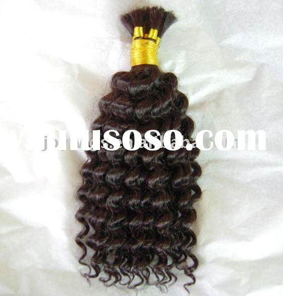 Water Weave Remy hair braiding, Indian Remy hair bulk accept paypal