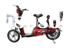 Electric chopper bicycle / electric bike with low noise design