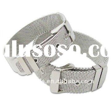 Fashion stainless steel mesh bracelet