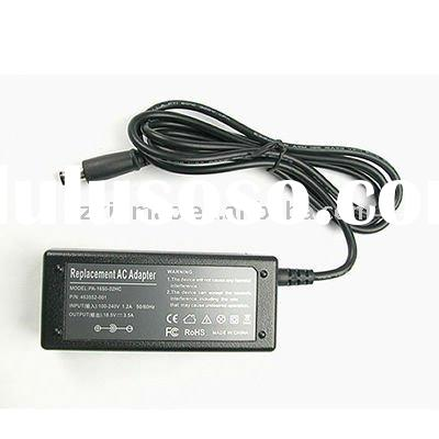 For HP/COMPAQ 65W 18.5V 3.5A Laptop AC Adapter