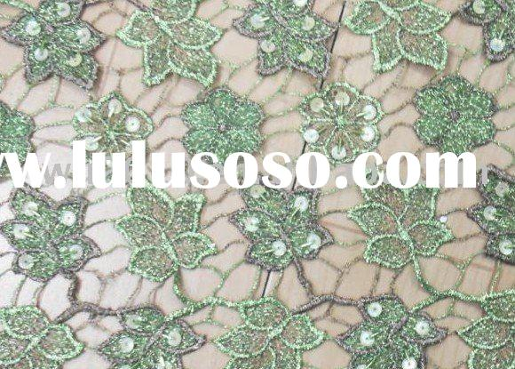 French Lace AF012-GN,african lace