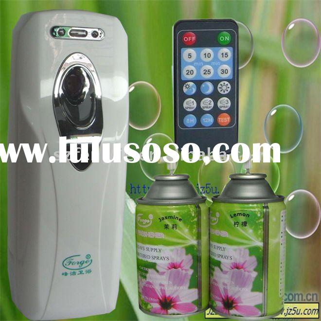 Fresh air aerosol spray dispenser