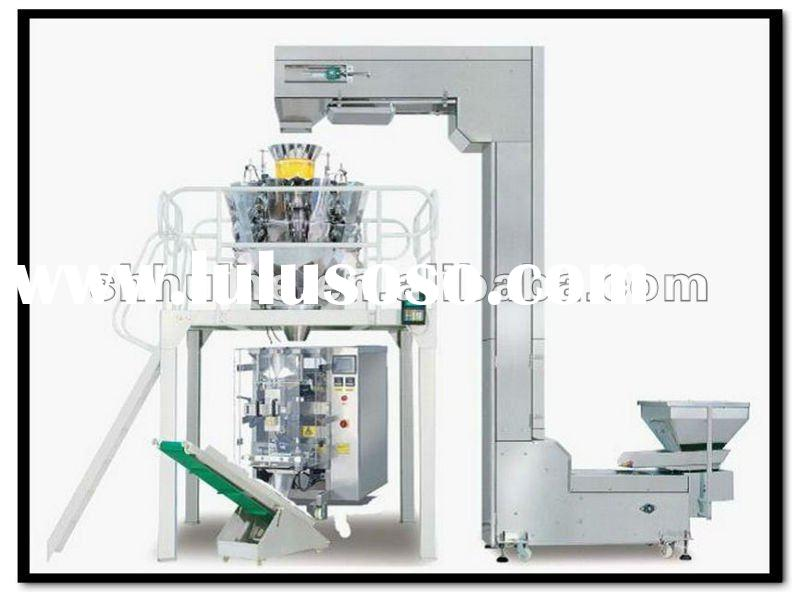 Fully Automatic Rice Packaging Machine with multihead weigher