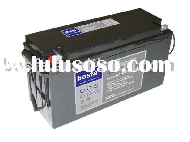 GB12-150 12v150ah industrial lead acid battery 12v 150ah ups replacement battery