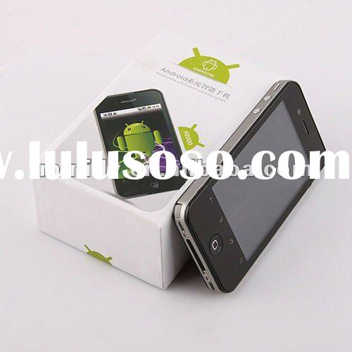 H2000 Multi-touch Screen G-sensor 3.5inch Capacitive smartphone android gps dual sim