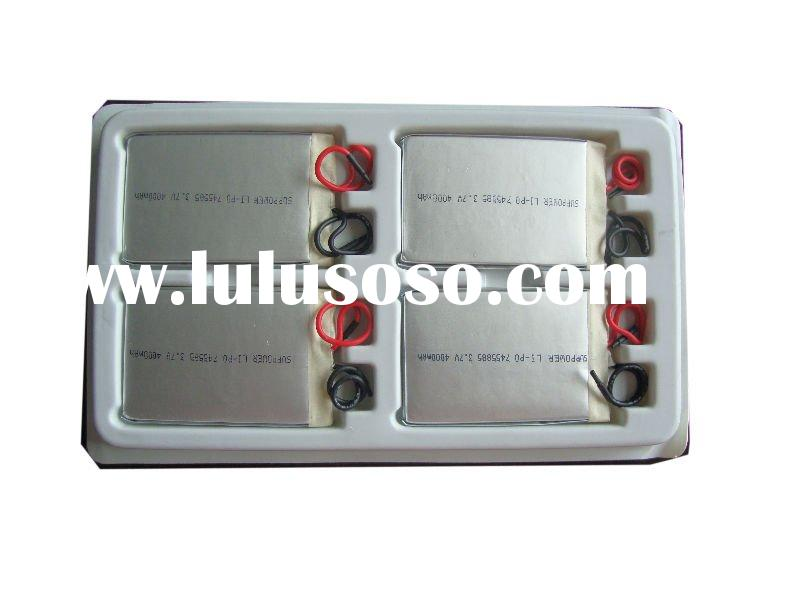 High Capacity lithium Ploymer for Electric bike battery With 3.7V 3000mAh