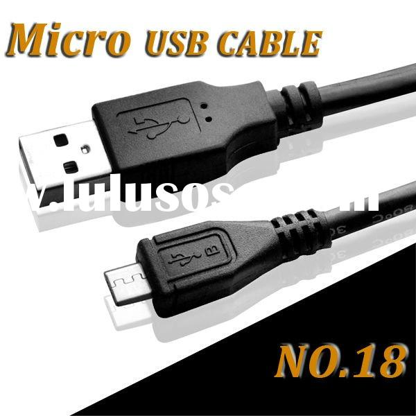 High Speed Micro USB cable for mobile phones of HTC, Samsung, Blackberry etc.