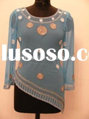 India style Ladies' Fashion Blouse 2011 new style blouse