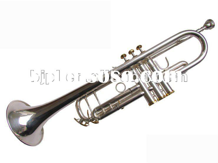 Limited 50 sino-US HTR-8339 silver plated trumpet three tone trumpet Bach trumpet import configurati