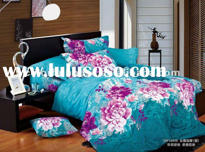 NEW DESIGN reactive printing bed sheet/quilt cover/bed spread fabric