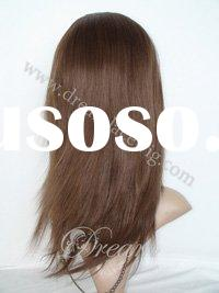 New type 100% hand tied human hair glueless full lace wig from factory directly