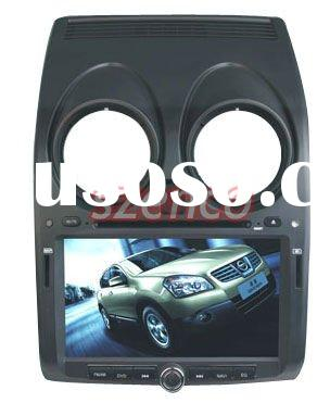 Nissan Qashqai dvd player with car gps navigation radio & video system