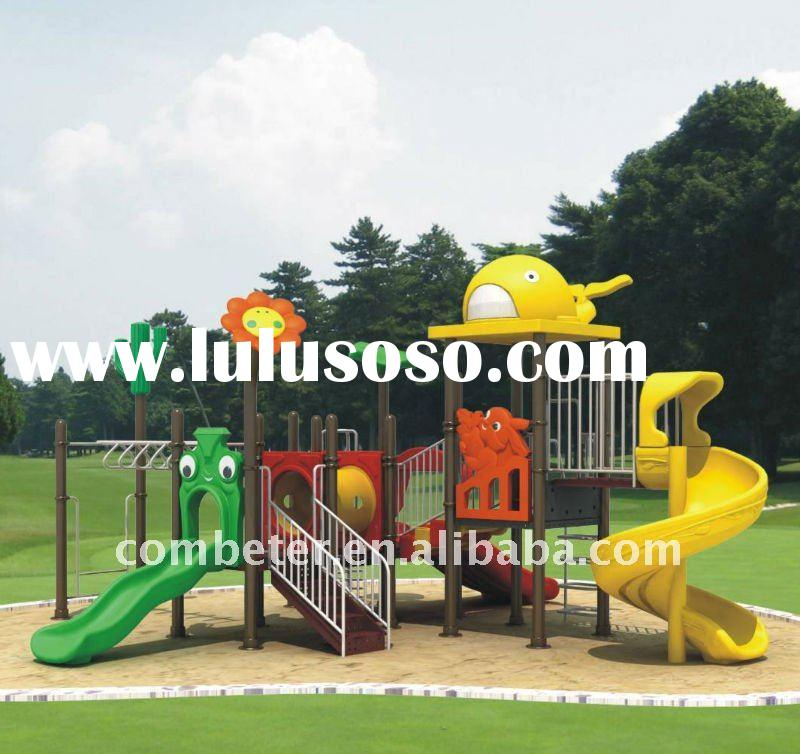 Outdoor playground slide/nursery school furniture/playground stainless steel/swings and childrens sl