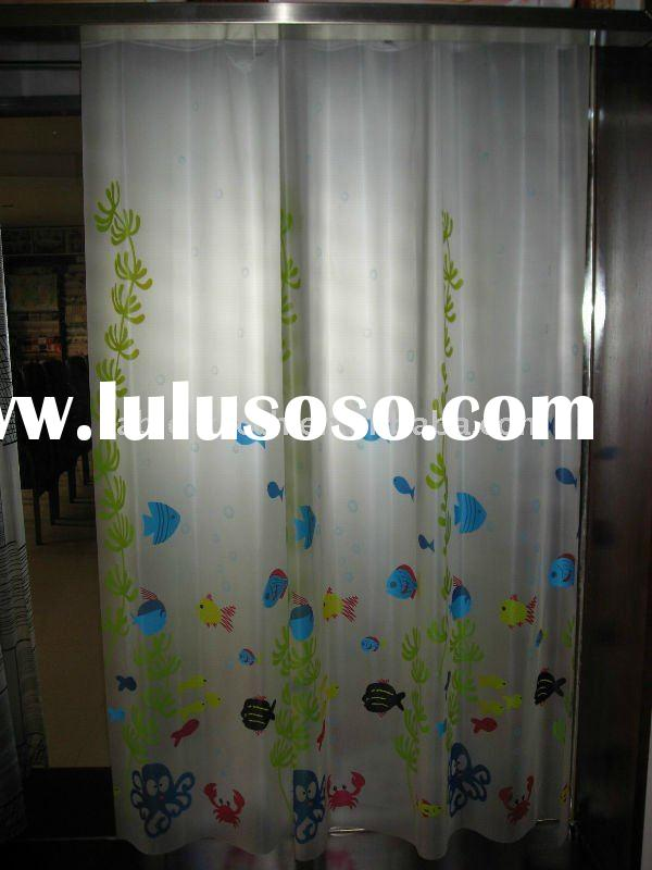 PEVA Shower Curtains, PEVA bath curtain, plastic shower sheet