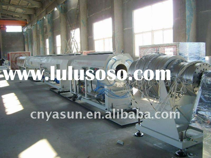PE/HDPE plastic tube making machine /gas and water pipe line