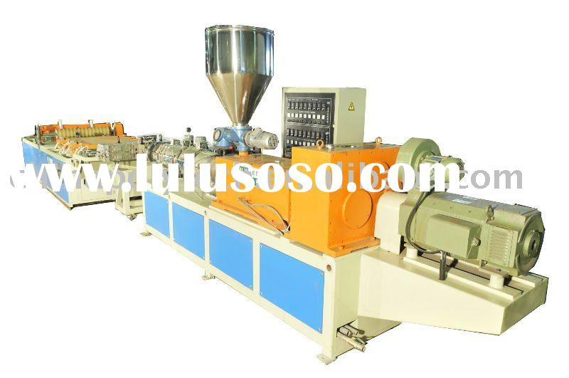 PVC/ASA composite plastic roofing sheet extrusion line
