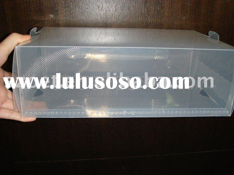 PVC/PET clear folding box