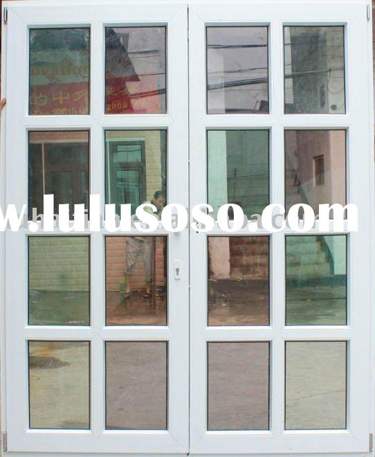 PVC double-panel french door manufacturer