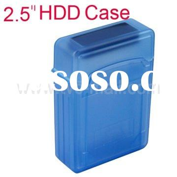 Plastic 2.5 inch Hard Disk Drive HDD Storage Box Protection Case