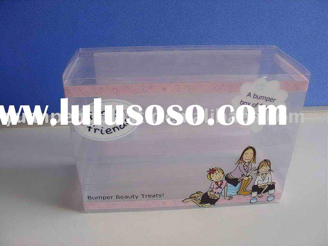 Plastic Folding Box,Show Box,Plastic Dispay Case,PVC Packaging Container