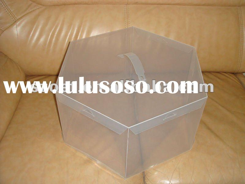 Acrylic Hat Boxes : Plastic clear pp box manufacturers