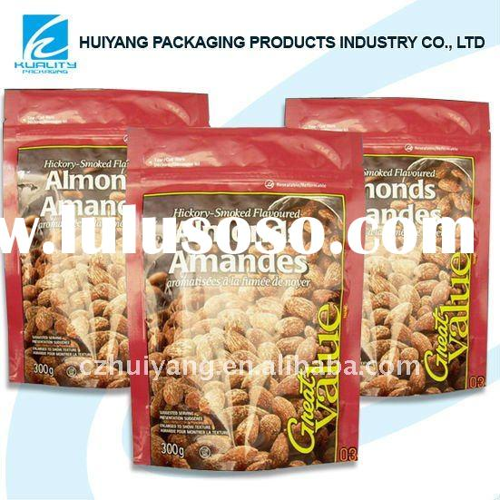 Plastic heat seal resistant material bag for bakery packaging