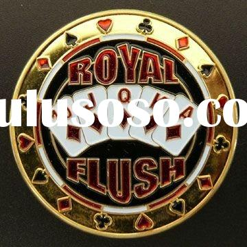 "Poker Card Guards, with ""ROYAL FLUSH"" Design Pattern, OEM Orders are Welcome"