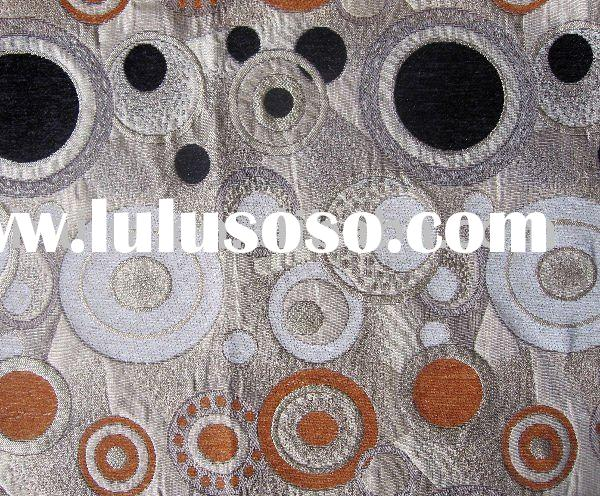 Polyester Jacquard Upholstery Fabric