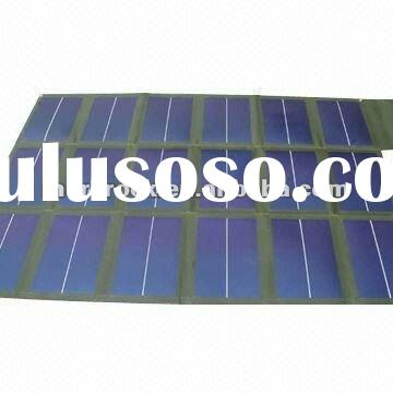 Portable Military Version 108W Flexible Solar Panel for Laptop Battery Charger
