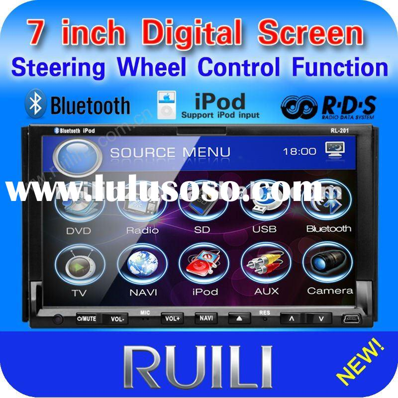 "RL-201 DGA 7"" Double Din Car DVD Player Car Deck Radio Stereo Audio"