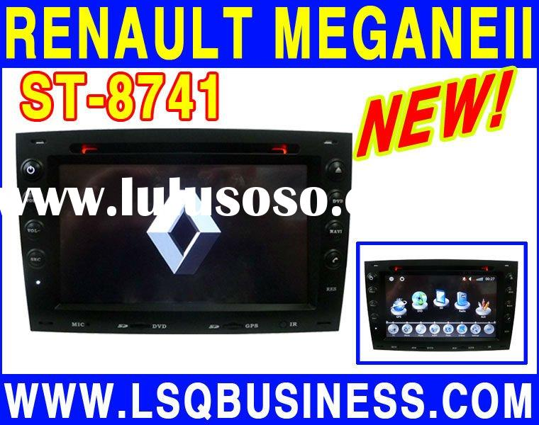 Renault megane 2 Car dvd player with GPS,Bluetooth,IPOD,USB,TV,Radio,and Wheel Steering Control