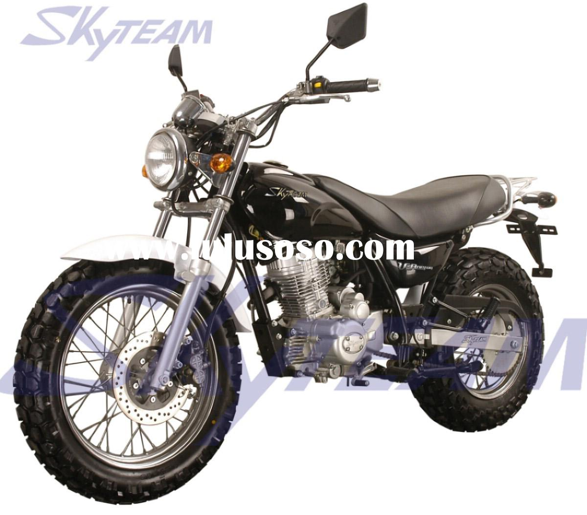 "SKYTEAM V-Raptor 125cc 4 stroke on road motorcycle (EEC Euro III EURO3 Approved 120/80-18"" / 18"
