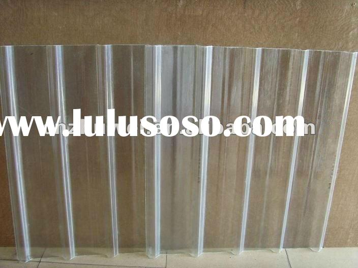 Sell FRP clear corrugated plastic roofing sheets plastic