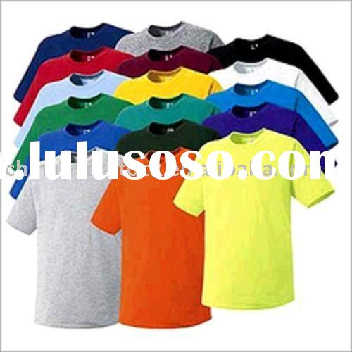 Stock lot/Stocklots short sleeve crew neck/round neck T-shirts/t shirt