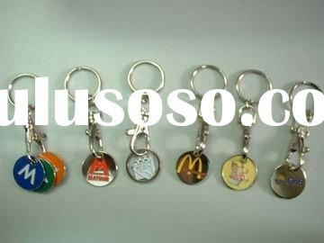 Trolley Coin, Metal Coin, Money Coin, Euro Coin, Keychain Coin, Cart Coin, Soft Enamel Coin, Coin, S