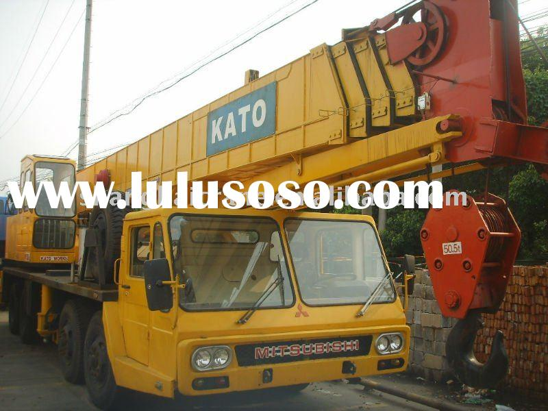 Used japan original kato crane 50t in good working condition ( used kato crane , Used Truck Crane )