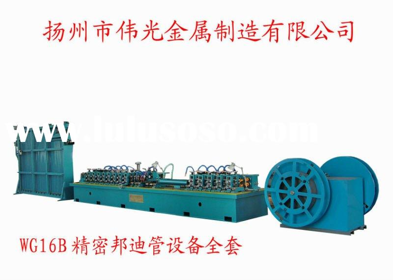 WG-16B high frequency welding bundy pipe making mill