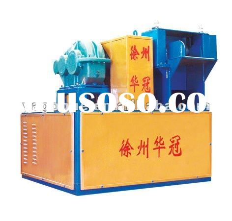 Waste tire recycling auto tire rubber shredder for rubber lumps
