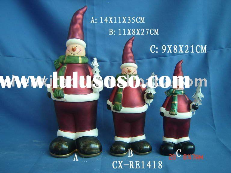 Xmas ceramic figurine