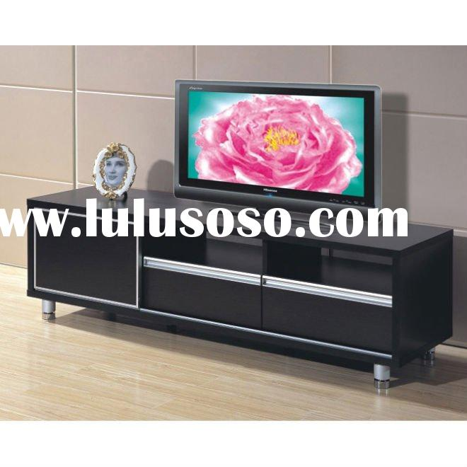 #Lowboard mode 150 modern TV stand in black high gloss finish