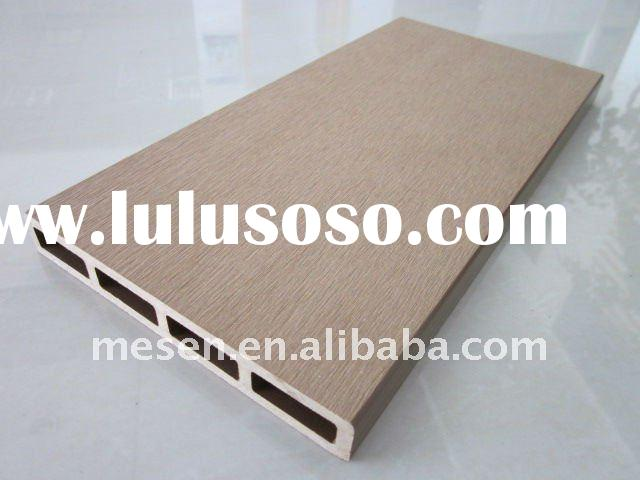 (poplar)wood fiber+plastic(HDPE) composite exterior wall cladding panel