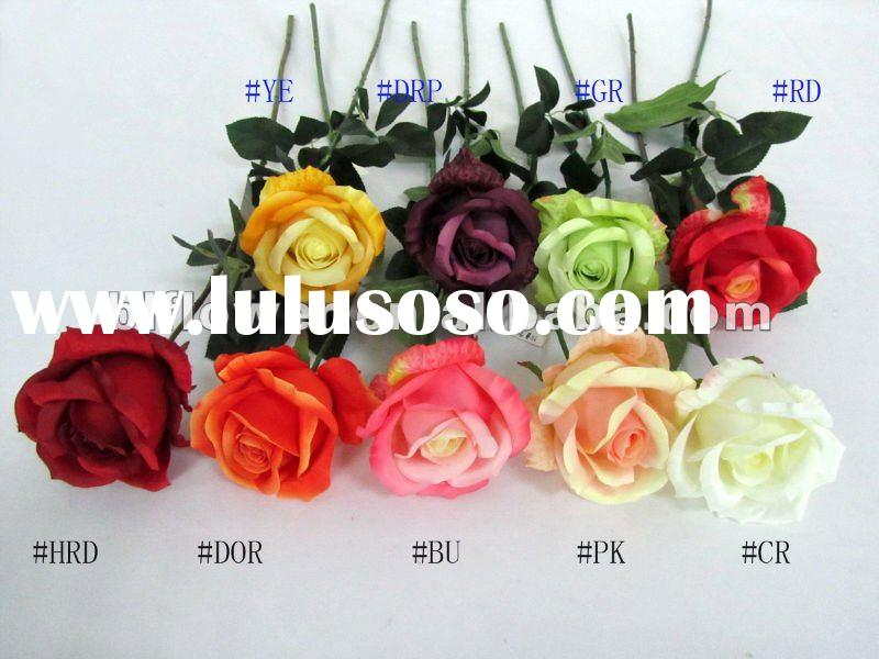artificial flower single rose
