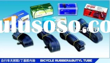 bicycle butyl and natural rubber tube