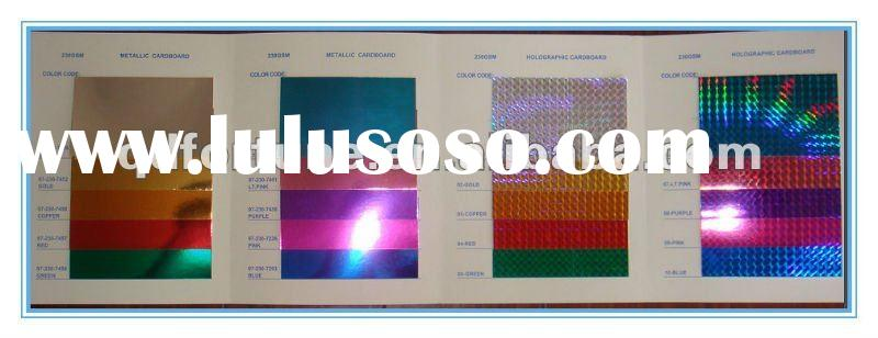 color holographic paper for gift wrapping
