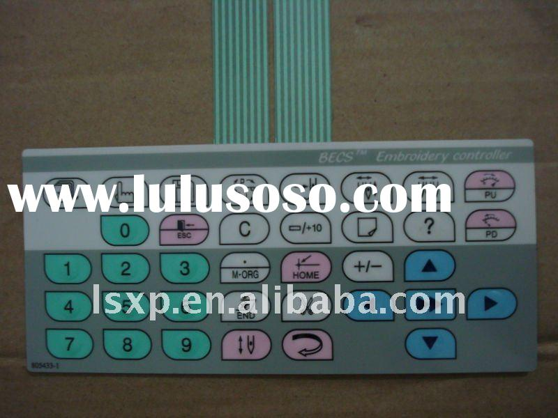 computerized embroidery machine spare parts - control panel
