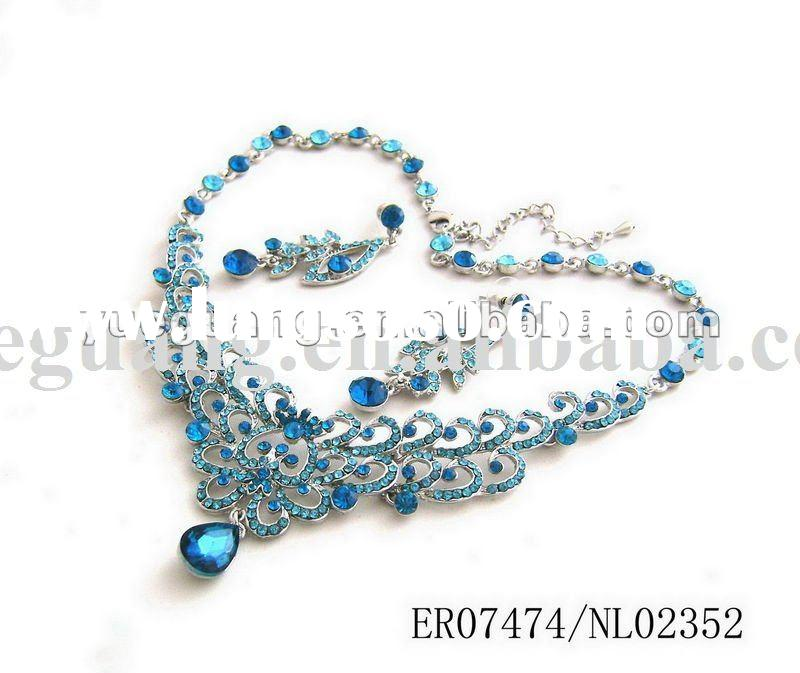 crystal jewelry sets/bridal jewelry sets