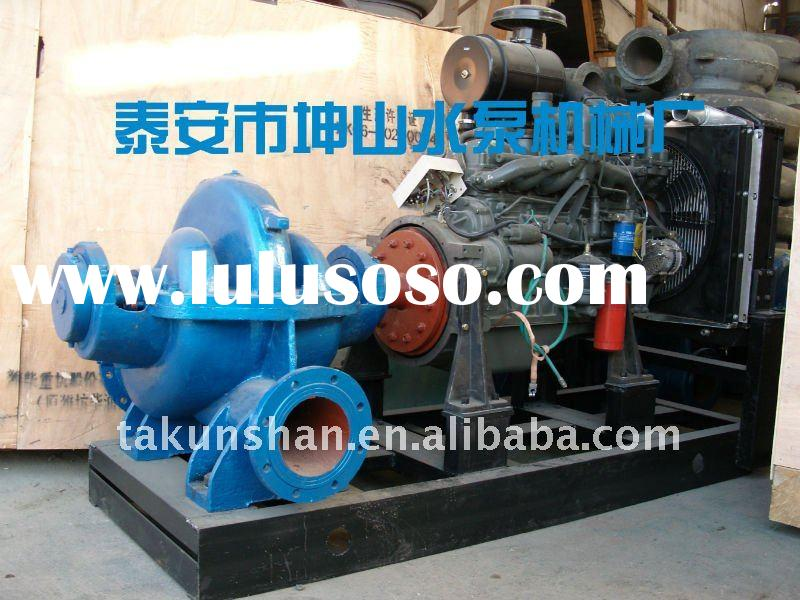 diesel engine driven water pump for farm irrigation