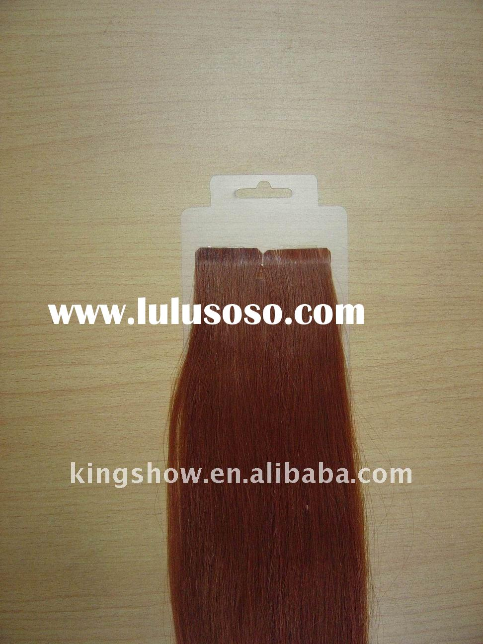 double sided tape weft hair extensions