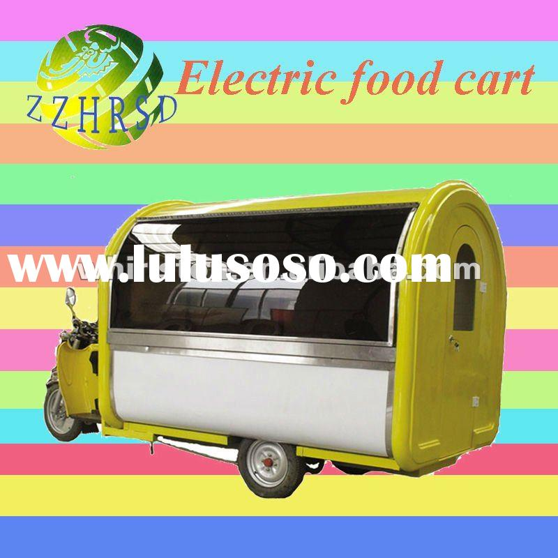electric mobile food vending carts MJD-07