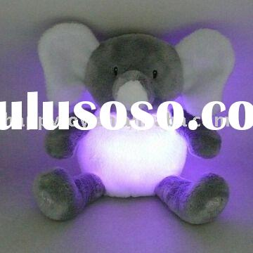 elephant Novelty Plush Light-up Toy stuffed plush toy
